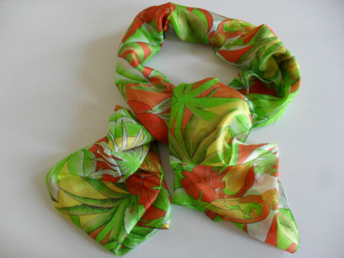 SEIDEN-SCHAL Dschungel Papageien SCARF SILK Jungle