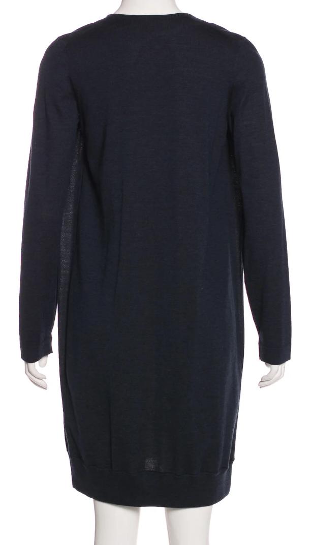 Akris Akris Akris Punto Diving Board Print Dress with Faux-Cardigan SZ 38 = US 6 - NWOT 32a018