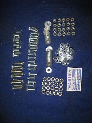 MGB Rear Suspension nut bolt washer Kit Rubber Bumper Cars Hi-tensile Grade 5