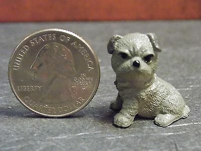 Dollhouse Miniature Dog Puppy Pet 1:12 one inch scale PUP102 Dollys Gallery F74