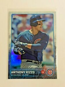 2015-Topps-Baseball-Holofoil-47-Anthony-Rizzo-Chicago-Cubs