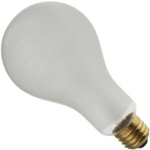 Industrial Performance 300ps25 If 300w 130v Inside Frost Incandescent Light Bulb Ebay