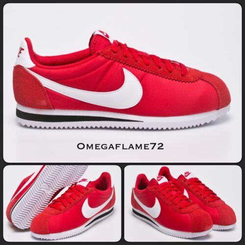 8 807472 Nike R Og 600 Us Nylon 9 42 Eu Uk Cortez 5 rouge xw10f