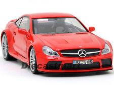 MOTORMAX 79161 1:18 MERCEDES BENZ SL65 AMG BLACK SERIES DIECAST MODEL CAR RED