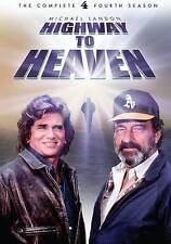 HIGHWAY TO HEAVEN: FOURTH SEASON (DVD) BRAND NEW SEALED BAR CODE CUT ON BACK