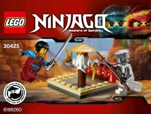 Lego-Ninjago-Cru-Master-039-s-Entrenamiento-Grounds-30425-Polybag-Bnip