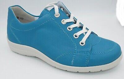Details zu Sonderangebot Waldläufer Schuhe Schnürschuhe weiß silber Weite H Neu 0763