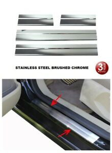 FOR-NISSAN-QASHQAI-2-AND-J10-2006-2013-CHROME-DOOR-SILL-PLATE-PROTECTOR-S-STEEL