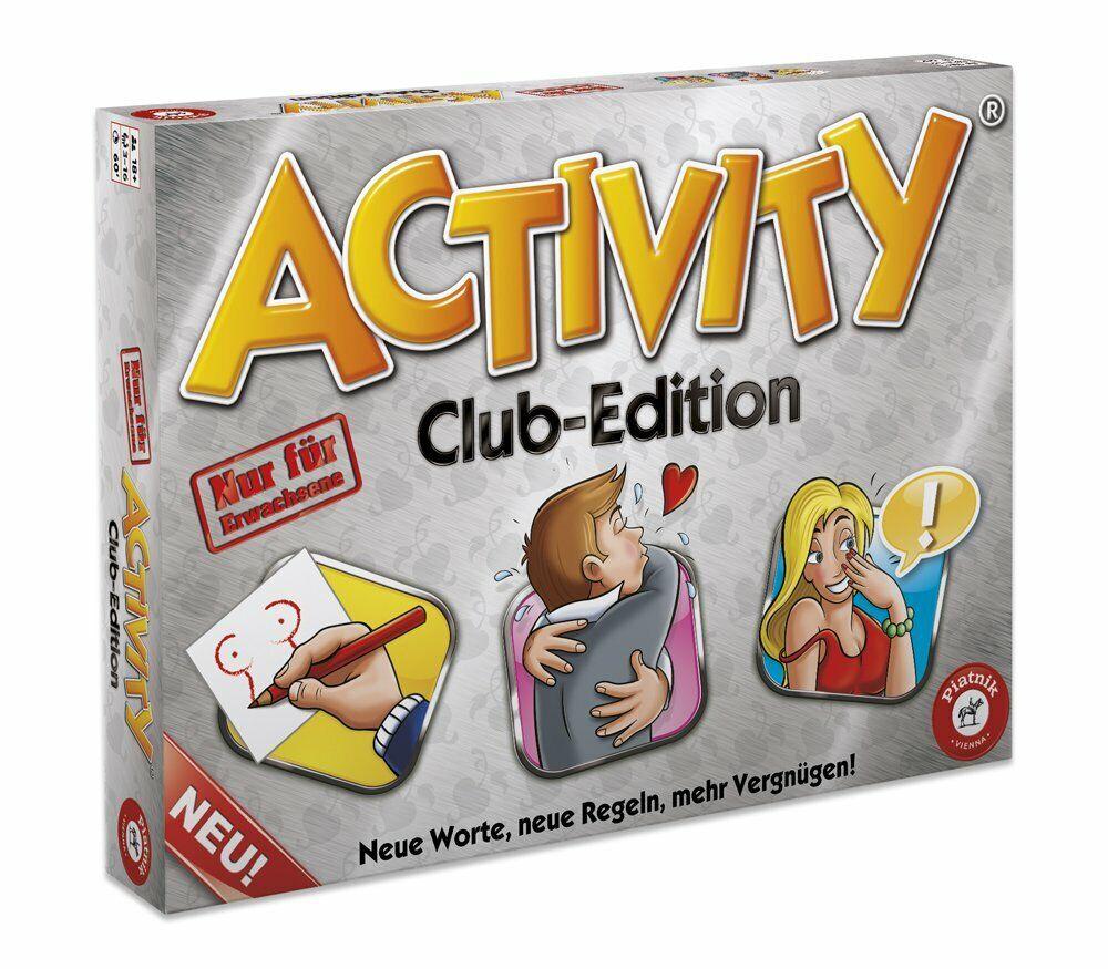 Piatnik Allemagne 6038-Activity Club Edition à partir de 18 ans