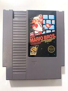 Super Mario Bros ORIGINAL NES NINTENDO GAME Action Series Tested + Working!