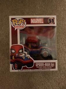 Pop! Rides - Spider-man avec Spider Mobile Funko 51