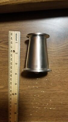 """NEW SANITARY 1.5/"""" to 2/"""" REDUCER TRI CLAMP CLOVER A3 STAINLESS DAIRY BEER NEW"""