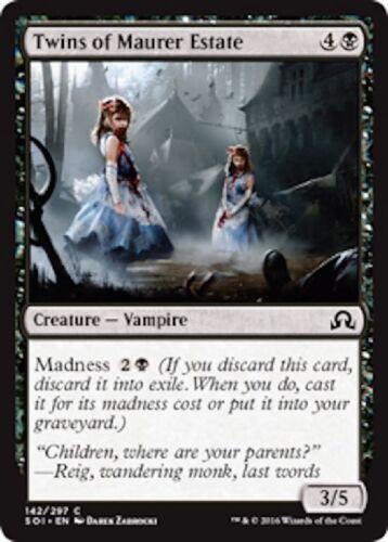 4x Twins of Masons Estate //// NM //// Shadows O Innistrad //// Engl //// Magic