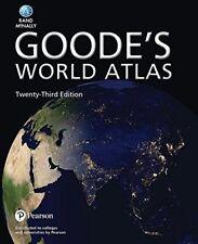 Goode's World Atlas by Rand McNally (2016, Paperback)
