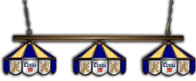 Coors Banquet Origina Beer Billiards Stained Glass Mirror ...