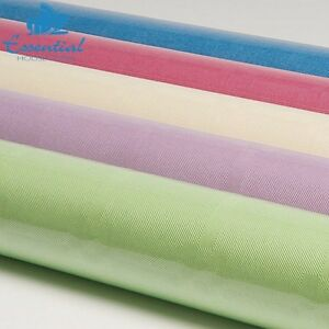 Essential Housewares Damask Banquet Roll Pastel Colour 8MX1.2M Wedding Party New