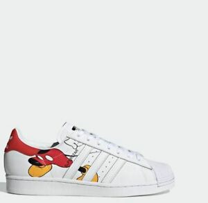 Adidas Mickey Mouse Superstar FW2901 Sneakers Shoes Disney