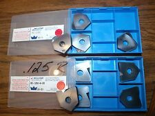 Millstar BD-1250-N-08 or TO-1250  BB-8 carbide inserts 5 total new drilling bits