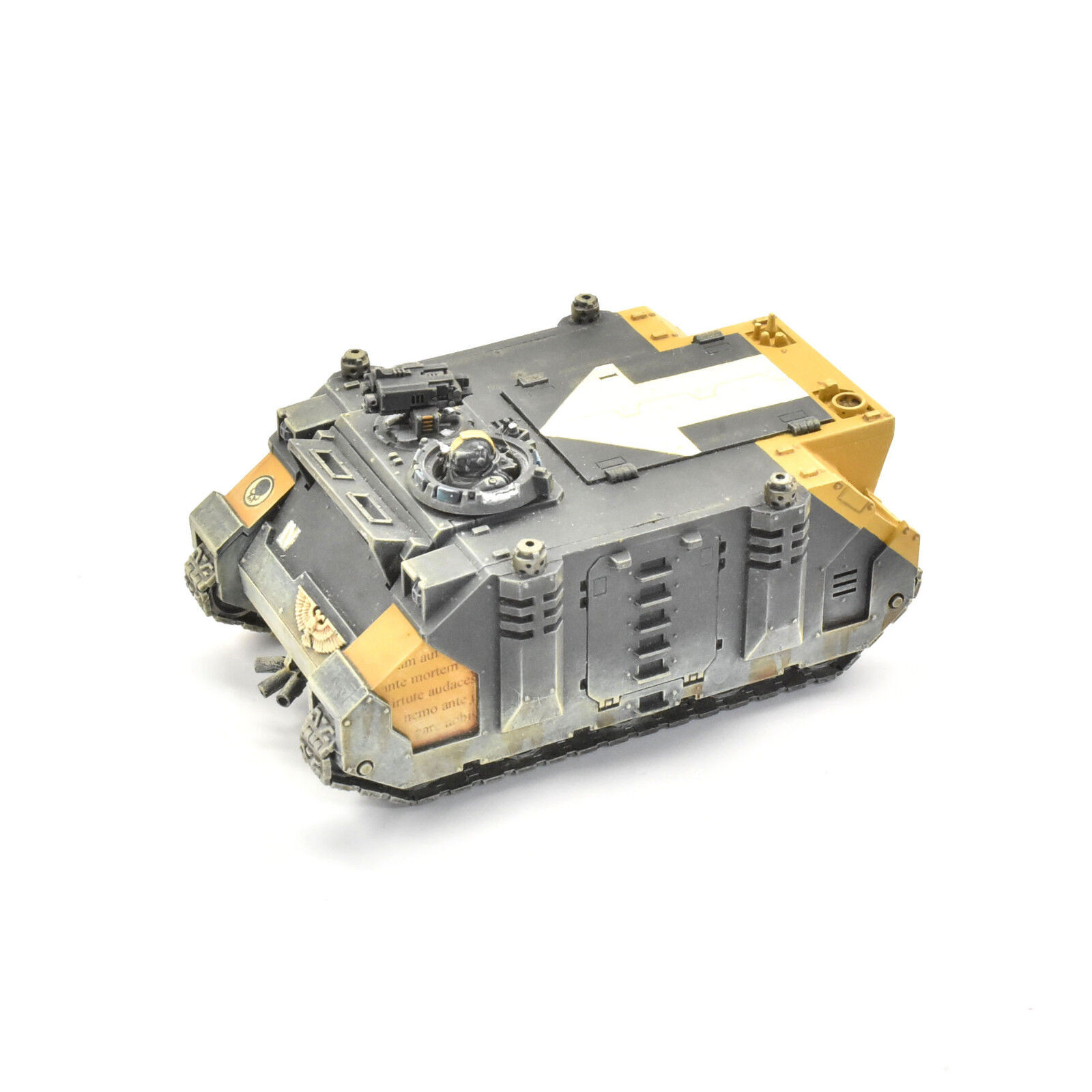 SPACE MARINES Rhino Tank  3 PRO PAINTED 40K rouge Scorpions army
