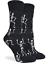 Halloween Skeletons Crew Socks Casual Women/'s Shoe Size 4-9 NEW