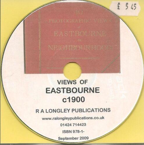 CD Eastbourne c1900 35+ Photographic Views