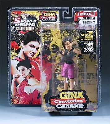 "GINA CARANO ROUND 5 SERIES 4 WOMMA UFC ""WALKOUTWEAR"" EXCLUSIVE FIGURE -2500 MADE"