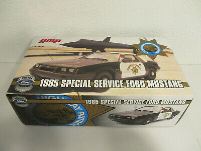 Cars Gokr 1:18 Gmp Ford Mustang California Highway Patrol Spezial Service Nip Automotive