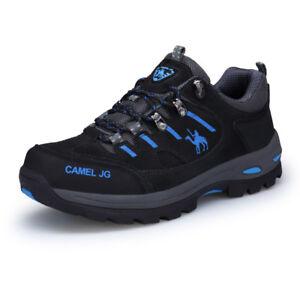 NEW Mens Camel Big Size Hiking Shoes Antiskid Sport Trail Trekking ... 0bcfc498019