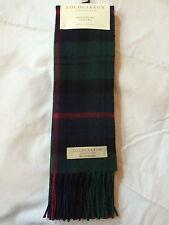 Lochcarron de Escocia 100% Lambswool Armstrong Tartan Bufanda Hecho En Escocia
