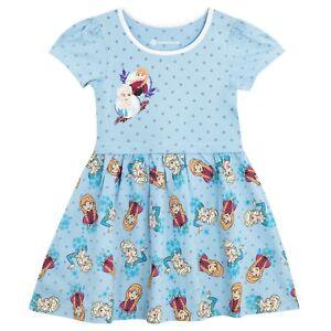 Disney-Frozen-Dress-l-Girls-Frozen-Skater-Dress-l-Frozen-Anna-Elsa-Dress