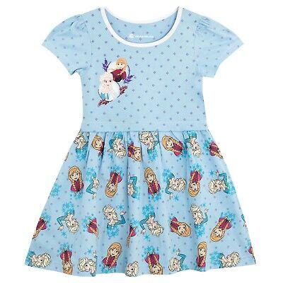 Disney Frozen Dress l Girls Frozen Skater Dress l Frozen Anna Elsa Dress