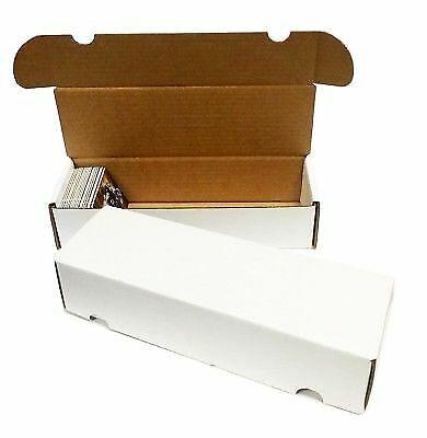 12 500//550 Conde de béisbol trading card Max PRO ZX cajas de almacenaje de cartón