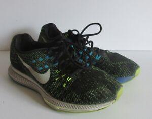 timeless design bd759 276eb Image is loading Nike-Air-Zoom-Structure-19-Black-Volt-806583-