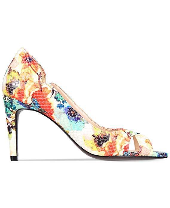 Cole Haan Damenschuhe Jacinda Floral Peep Toe Heels Schuhes Floral Jacinda 5 NEW IN BOX f6a685