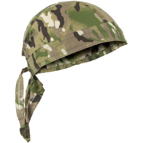 Traditional Army Head Wrap Cotton Bandanna Combat Zandana Doo Rag Multitarn Camo