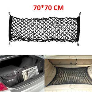 70X70cm-Grand-Elastique-Voiture-Cargaison-Range-Net-Espace-de-rangement-Demarrag