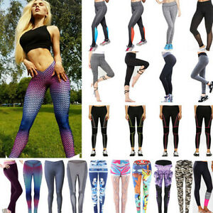 Women-039-s-Sports-Gym-Fitness-Leggings-Yoga-Pants-Jogging-Workout-Stretch-Trousers