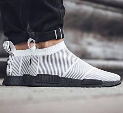 Adidas NMD CS1 size 9. White Black