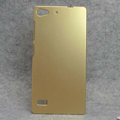 For Lenovo Vibe X2 Gold Snap On Rubberized Matte hard case cover