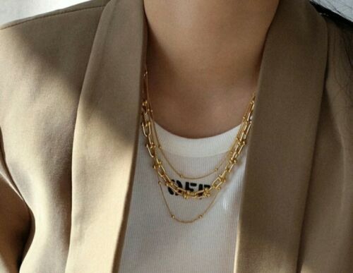 Silver Choker Chain Link Necklace Other Bloggers Stories Mango