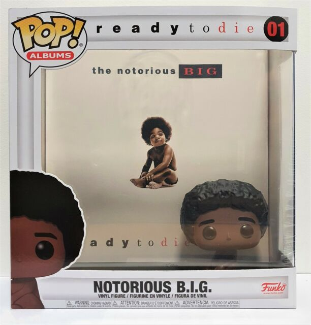 Funko Pop Albums Ready to Die Notorious B.I.G # 01 Vinyl Figure