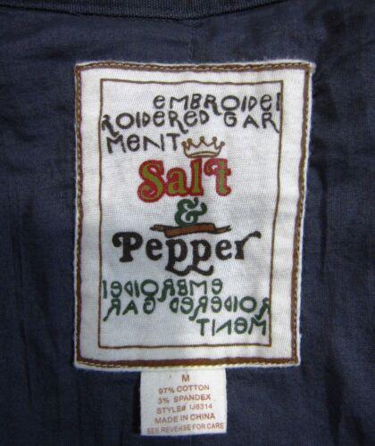 Pepper Medium Taille boutonnée Longueur Aux genoux Solide Gris Veste M Salt XqOEtxCwwR