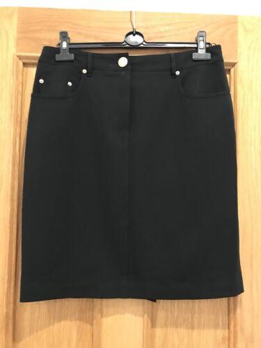 per Gonna condizioni elegante nera buone Moschino 14 Couture splendida qBTB7Xw