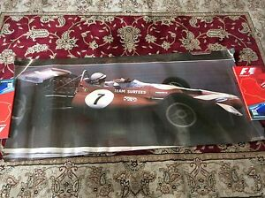 JOHN-SURTEES-VINTAGE-POSTER-BRANDS-HATCH-1970-McLAREN-M7C