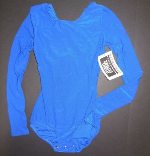 NWT Long Sleeve Snap Crotch Leotard Praise Cheer Lots Colors /& Sizes ch//ad PLUS