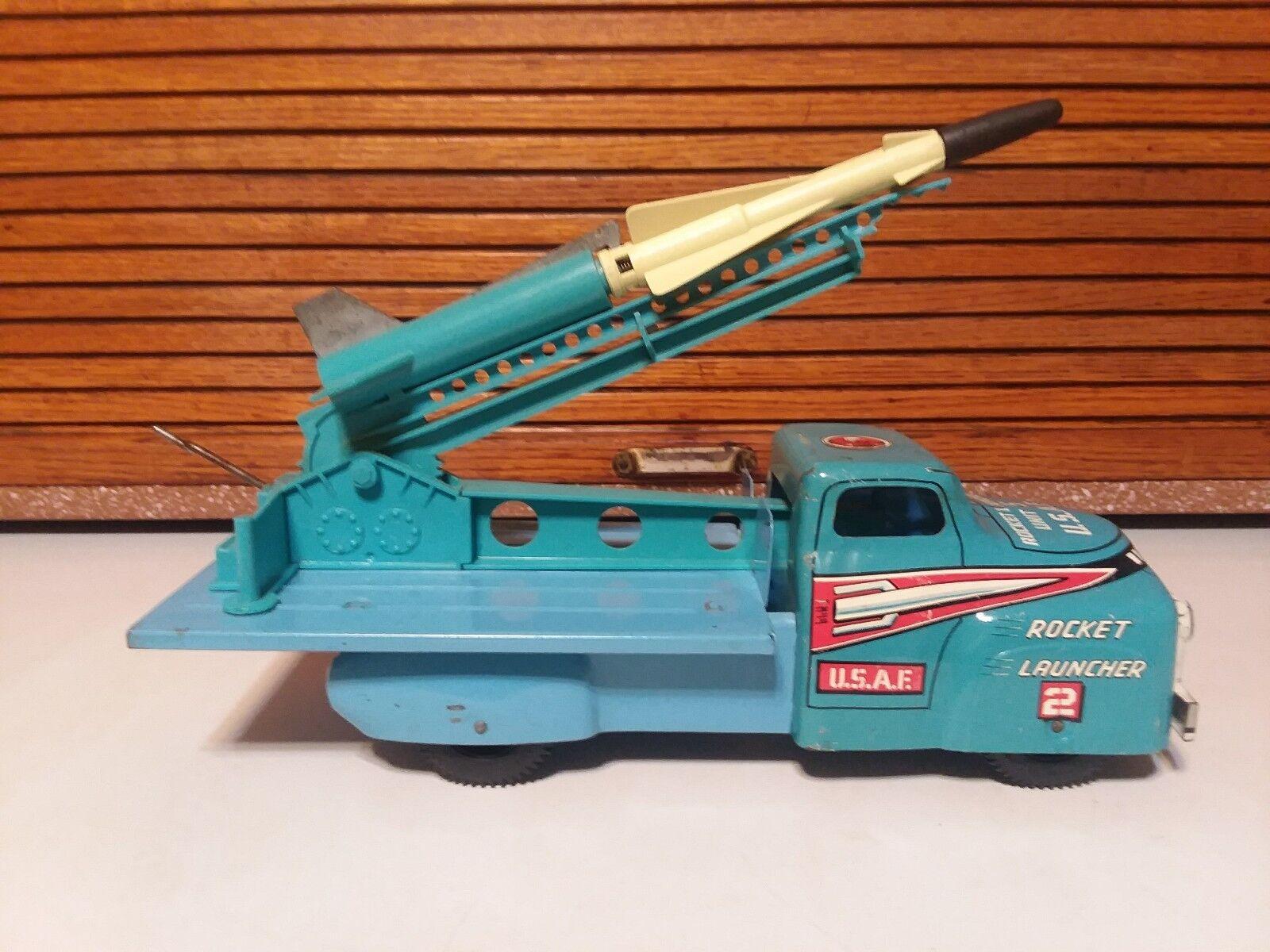 Marx U.S.A.F. Mobile Rocket Launcher
