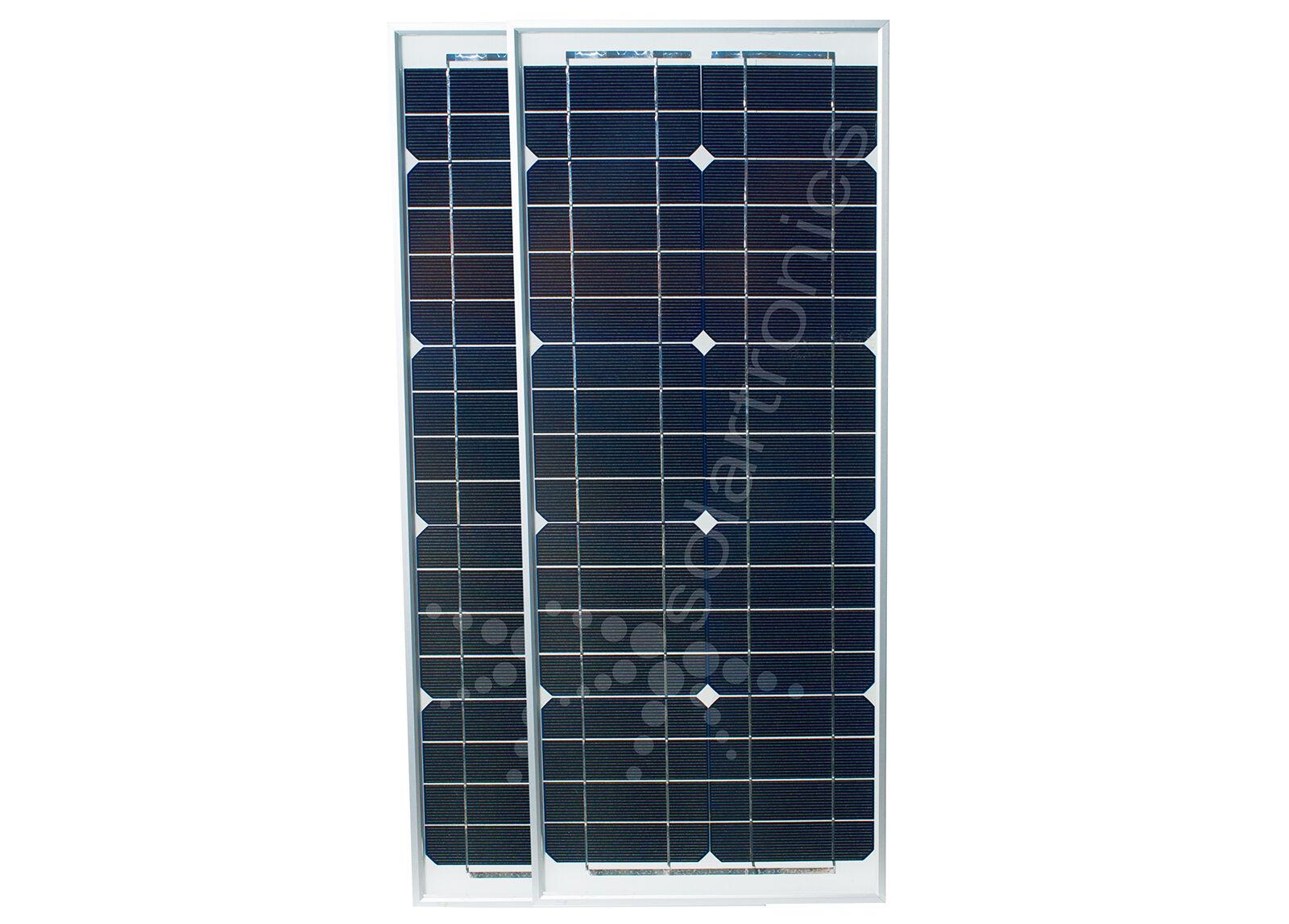 Solarset 40 Watt 2x 20 Watt mono Solarzelle Solarpanel Photovoltaik