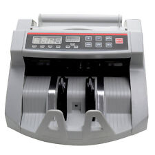 Money Bill Counter Worldwide Currency Cash Counting Machine UV & MG Counterfeit