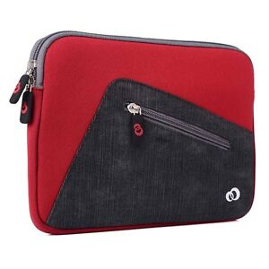 Neoprene-Sleeve-Cover-Case-for-8-5-034-9-5-034-Tablets-with-Accessory-Storage-Pocket