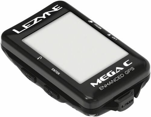 Lezyne Mega C GPS Computer Black